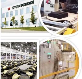 Automatización para la autopartista Toyota Boshoku
